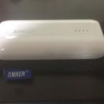 モバイルバッテリーAnker Astro E1を購入したのでレビューしてみる。