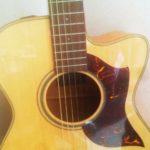 【アコギ】ギターを始めてみようかなと思ったので、早速友達にアコギ借りてきました。【初心者】